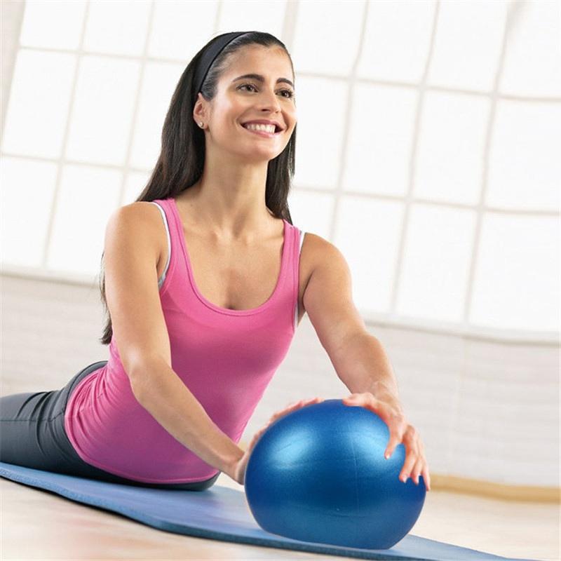 Small Yoga Balls Inflatable Balance Fitness Pilates Air Phys